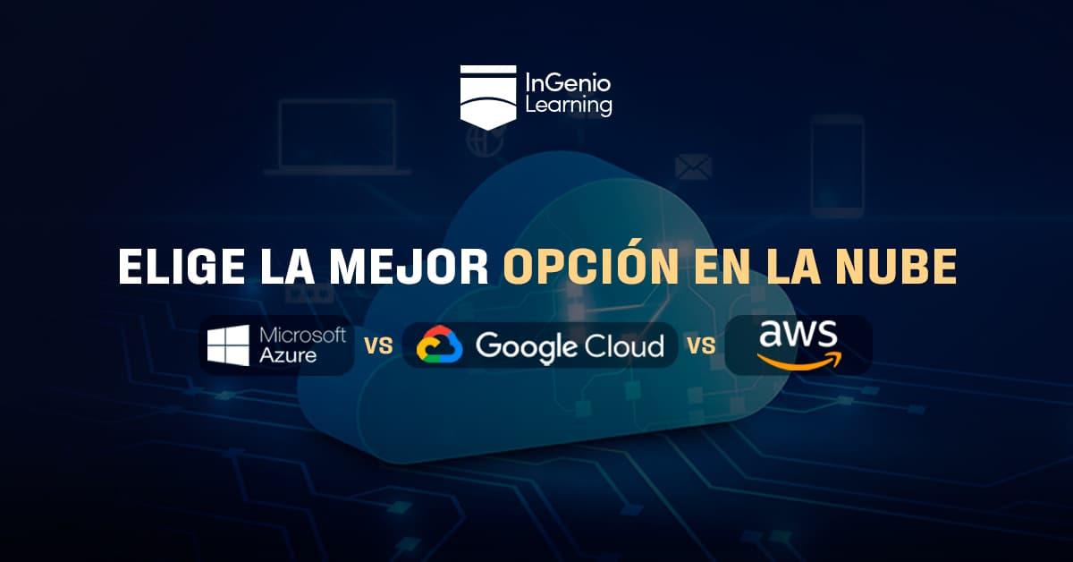 aws vs google cloud vs azure