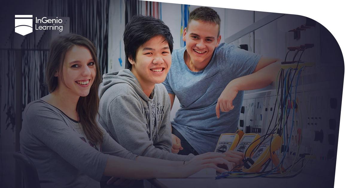 estudiantes de carrera tecnica